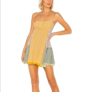 Free People Across The Sea Tunic in Citrus